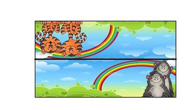 Imprimibles del Arca de Noé.