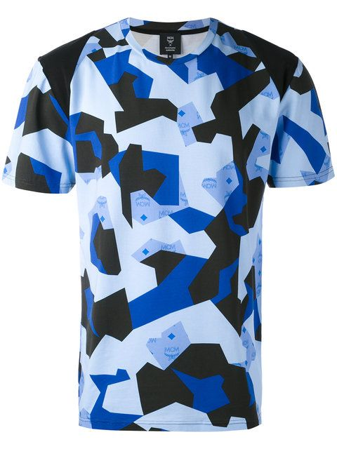 CHRISTOPHER RAEBURN Mcm X Christopher Raeburn Printed T-Shirt. #christopherraeburn #cloth #t-shirt