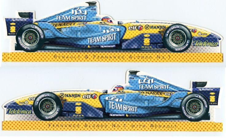 F1 - Renault and Fernando Alonso c2005