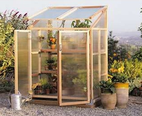 Greenhouse at home