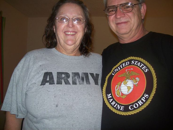 Army vs. Marines I was in the Army He was in the Marines
