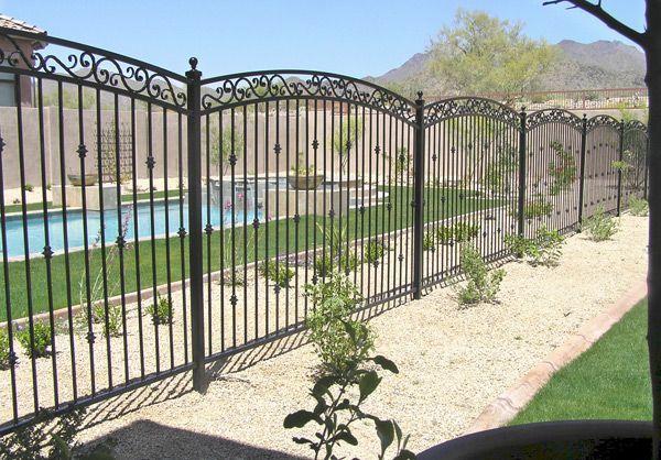 8 Gorgeous Garden Fence Black Metal Ideas In 2020 Pool Fence