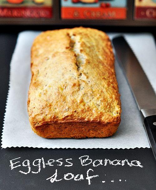 a2 Eggless Coconut, Walnut & Banana Bread (with Chia Seeds)