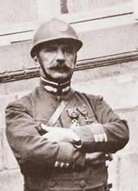 In Dec 1915, Emile Driant criticized renowned General Joffre for removing artillery guns & infantry from around Verdun in order to strengthen other areas -no troops or guns were returned. Thus a small number of guns & soldiers were left to man a threatened area which Joffre denied, but Driant was proven right.  When the Germans initiated their massive attack on Verdun, French defenses crumbled. Driant's 1,200 men made a desperate defense of the Bois des Caures -only 58 men survived.
