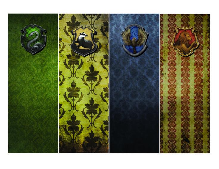 Free Hogwarts House Bookmarks Printable Download | Free ...