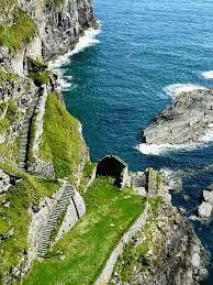 Whaligoe Steps, Caithness, Scotland.