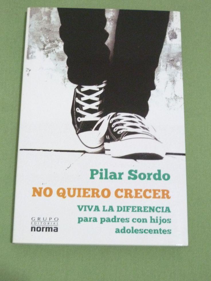 Pilar Sordo es una psicóloga, columnista, conferencista y escritora chilena, cuyos escritos y puntos de vista abarcan temas tales como el sexo y la familia. En general, su obra ha sido catalogada como «de autoayuda». No. de Pedido: 155.5 S713N 2010