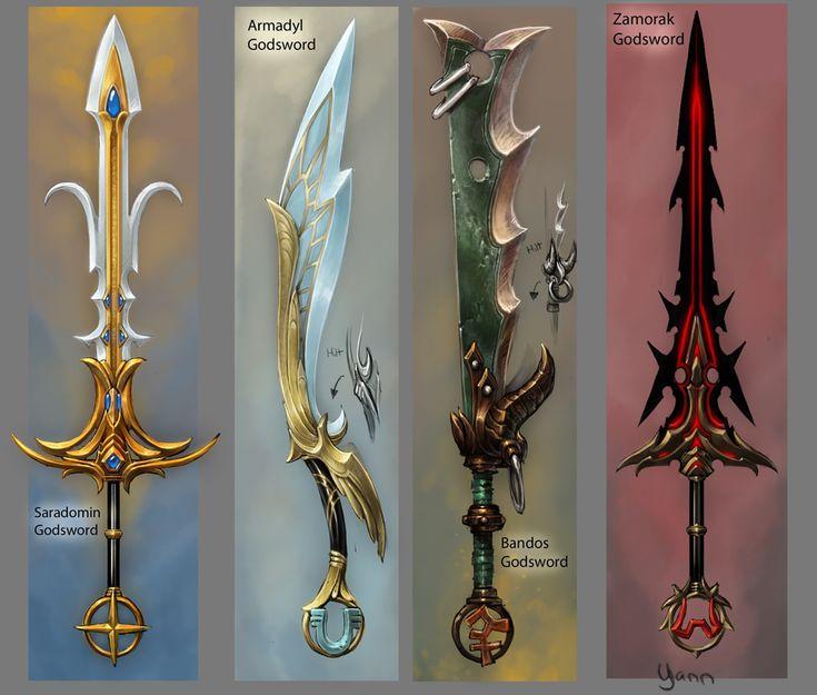 Godly Armies   Godsword - The RuneScape Wiki