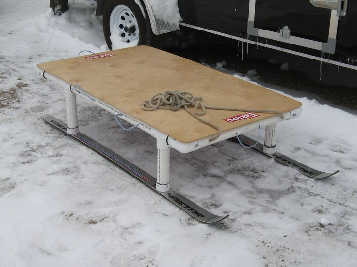 17 best ideas about ice fishing sled on pinterest ice for Ice fishing sleds