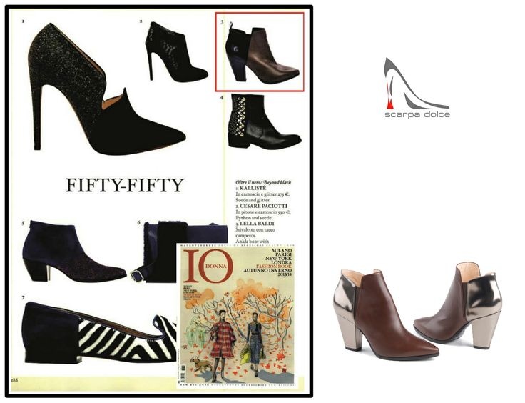Look what I found! Lella Baldi boots in Io Donna Fashion Book October 2013! :) They're also available on: http://goo.gl/uLfVqa