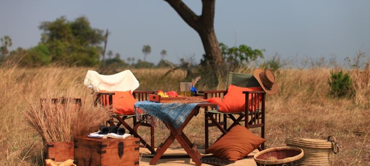 #Safari setting for the bush adventurer  | Holidays in Tanzania | Mbali Mbali Lodges and Camps
