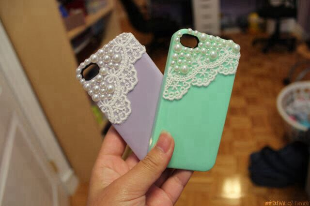 lace iphone cases. ♡