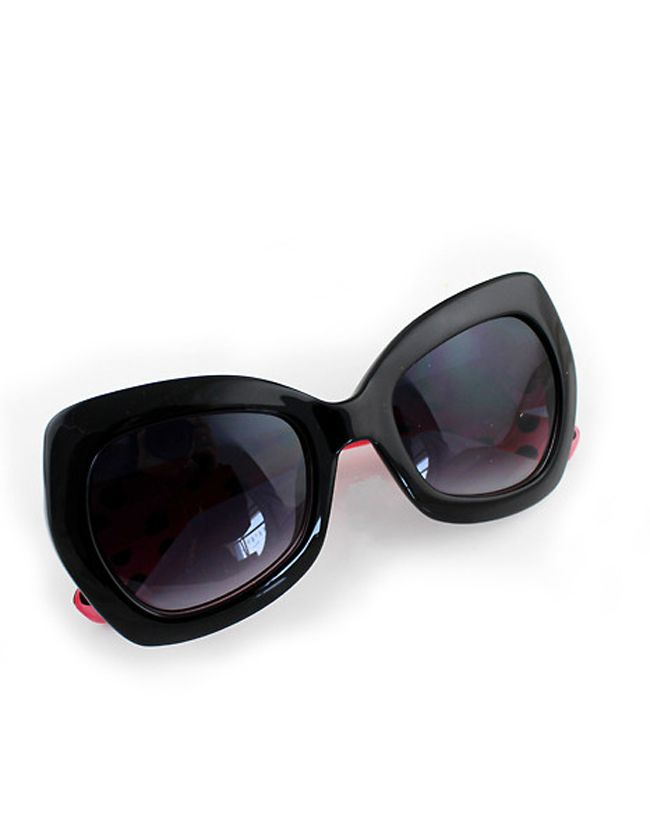 Fashion Designer Red Butterfly Frames Sunglasses 10.29