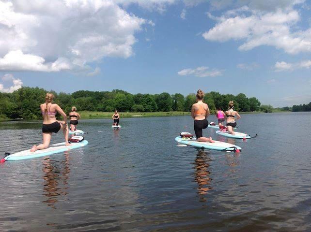 Check out the new #PaddleBoard #Yoga at #Christie #Lake #Conservation! #HamON #SUPYoga #Moksha #Hamilton #Nature #Recreation http://hamilton.mokshayoga.ca/