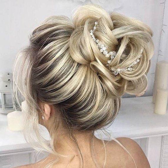 Braut Haarnadeln Braut Haarnadel Braut Haarteil Hochzeit Haarteil Hochzeit Haarschmuck Hochzeit Wedding Hair Pieces Wedding Hair Pins Wedding Hair Inspiration