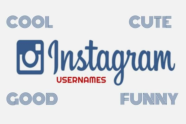Cool Instagram Names using Good Ideas - WatchMeTech
