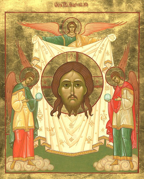 """Icon """"Not Made by Hands"""" from Lydda - Orthodox Church in America"""