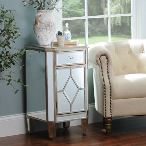 Manhattan Mirrored Nightstand | Kirklands