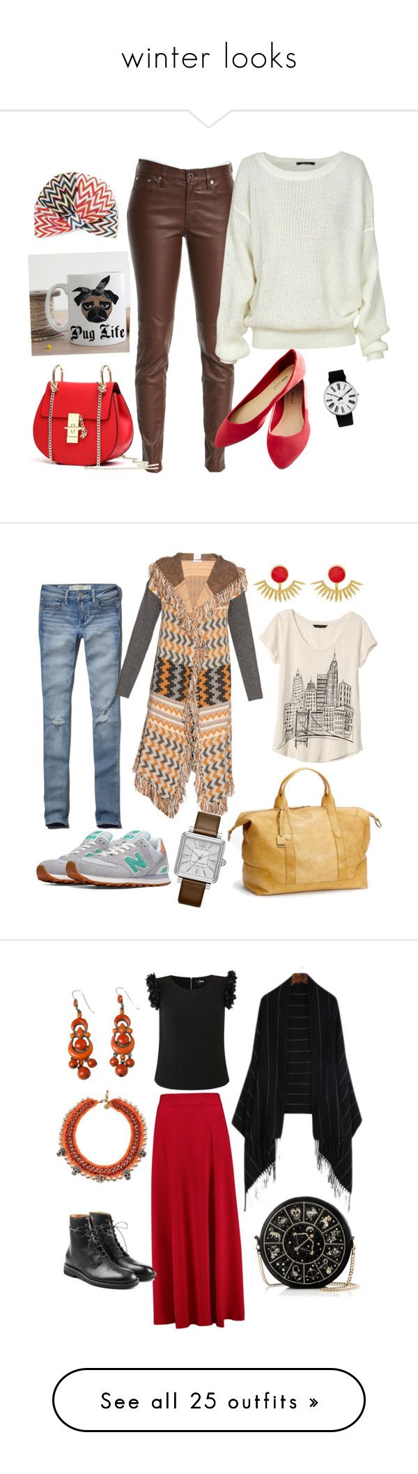 """""""winter looks"""" by maritabirken ❤ liked on Polyvore featuring Ralph Lauren Black Label, Missoni, Rosendahl, Wet Seal, New Balance, Abercrombie & Fitch, Ottoman Hands, Banjo & Matilda, Marc Jacobs and Banana Republic"""
