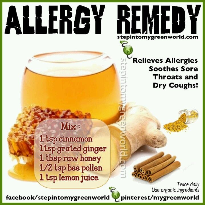 Natural Remedy For Tree Pollen Allergy
