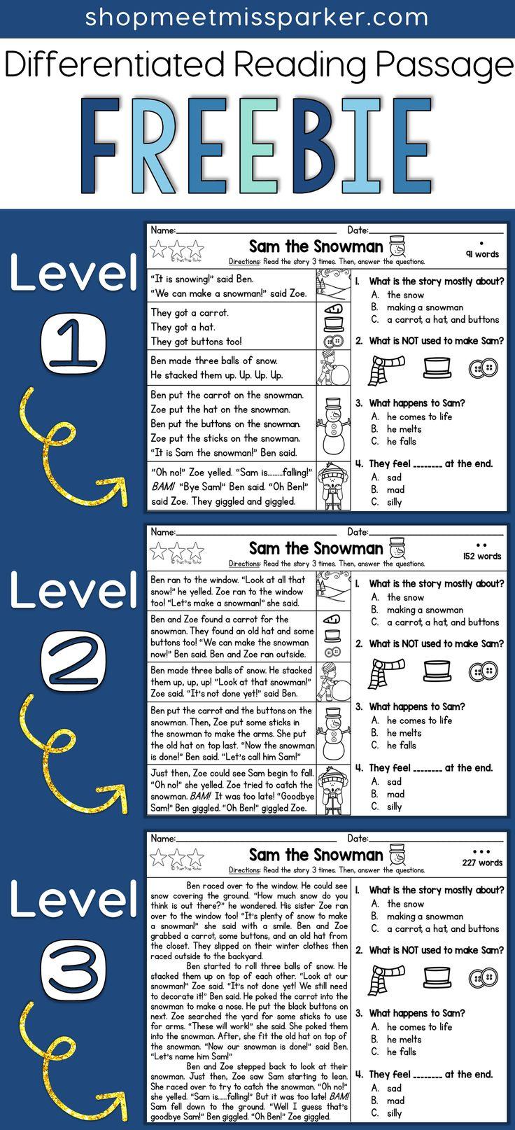 Workbooks k12 comprehension worksheets : Best 25+ Free reading comprehension worksheets ideas on Pinterest ...