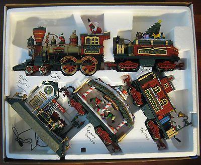 holiday express animated train set instructions
