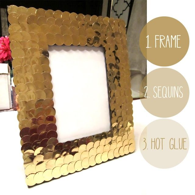 Glasses Frame Diy : 1000+ images about Sequins on Pinterest Heart pillow ...