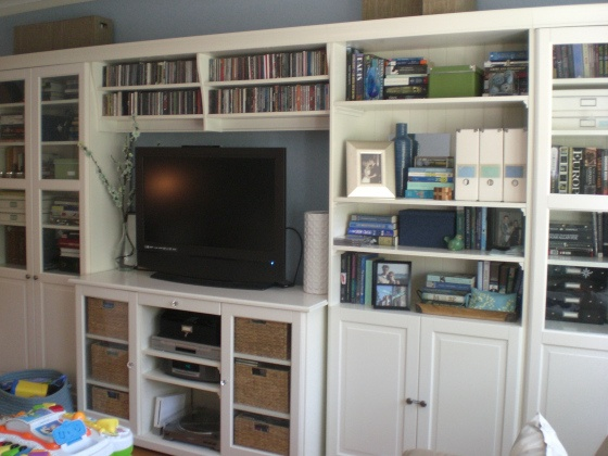 ikea entertainment center would love to have or build