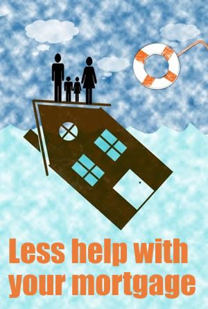 the government is cutting the help struggling families get with their mortgages because the average interest rate on NEW mortgage is falling - which doesn't make much sense! http://debtcamel.co.uk/help-mortgage-interest/