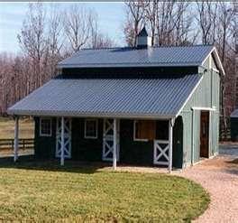 Small horse barn idea...