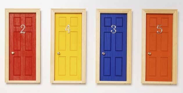Here's a quick guide on how to paint your front door. Apparently the colour of your front door could ultimately scare away potential buyers if you get it all wrong. What can I say? First impressions count, so give the people what they want