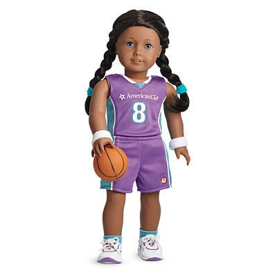 3c8f1352056 American Girl® Clothing: Basketball Outfit for Dolls + Charm | Dolls | American  girl clothes, Girl dolls, American girl