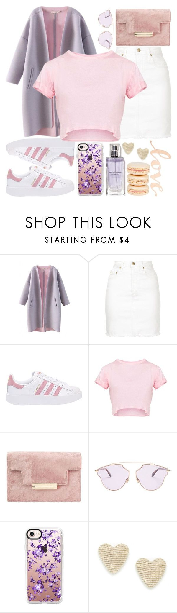 """""""Untitled #52"""" by zalvaalf ❤ liked on Polyvore featuring Nobody Denim, adidas Originals, Christian Dior, Casetify, Mikimoto and Primitives By Kathy"""