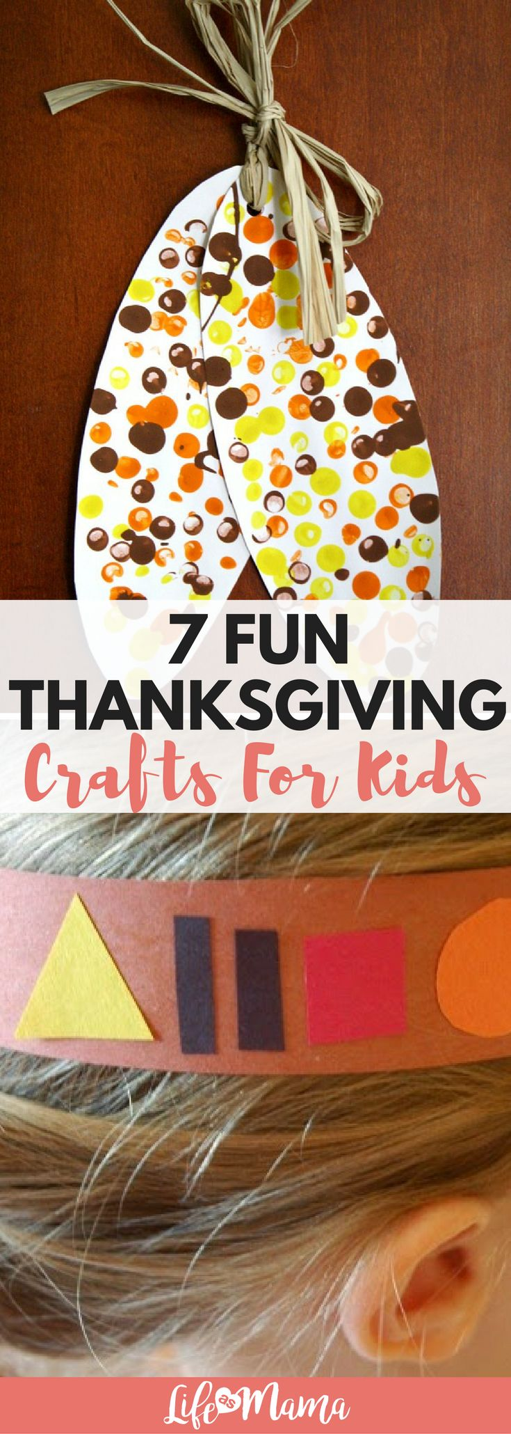 Not only is it the official start to the holiday season, but Thanksgiving is an amazing way to start teaching our kids how to reflect on their blessings. A fun way to do that is through crafting, and that's why we've rounded up some great Thanksgiving cra