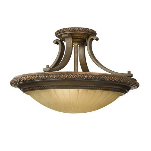 India inspired...Kelham Hall Semi-Flush Light