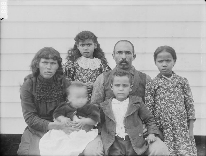 john temple collins and family pamunkey � 1899