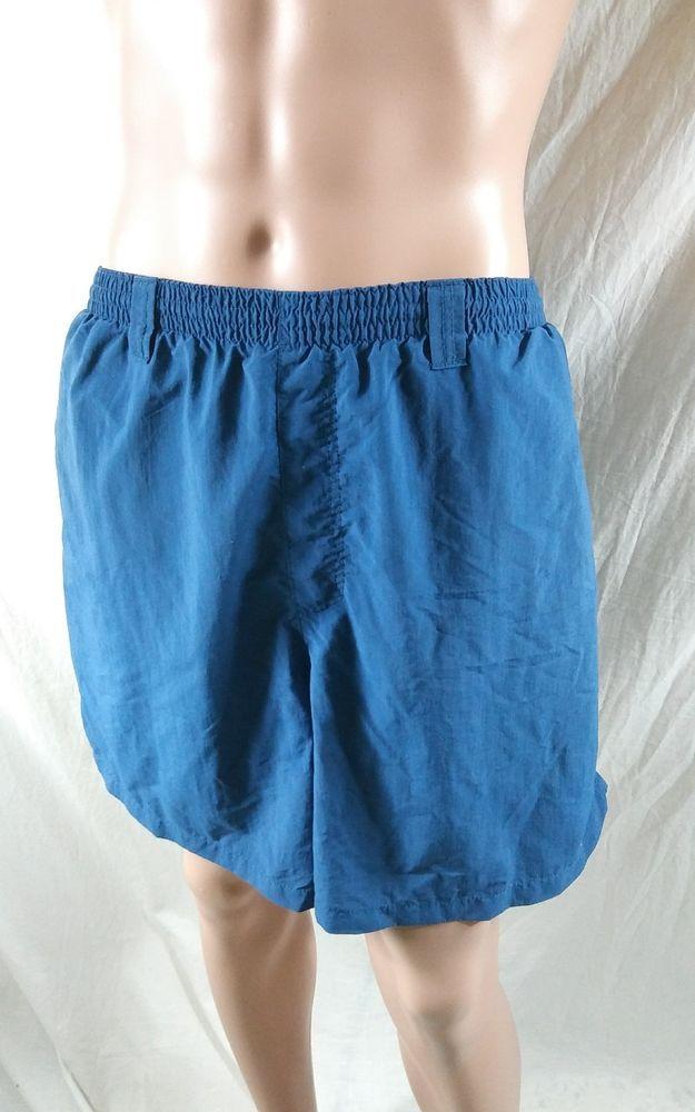 ac2624ef397ce Columbia PFG Size XXL Omnishade Swim Shorts Lined Trunks Dark Blue Swimming  #Columbia #Trunks