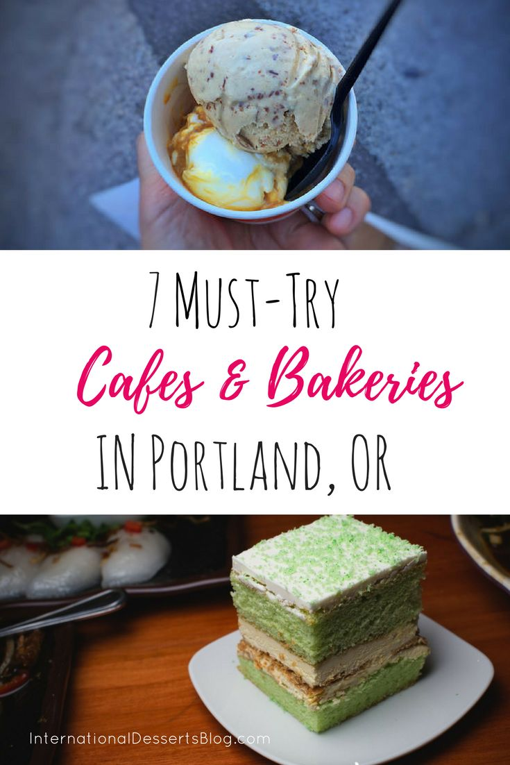Visiting Portland, Oregon? Be sure to try these Cafes and Bakeries! #portland #pdx #oregon