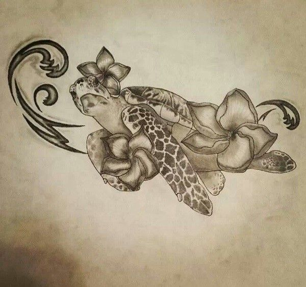 150 Alluring Turtle Tattoo Designs and Meanings cool