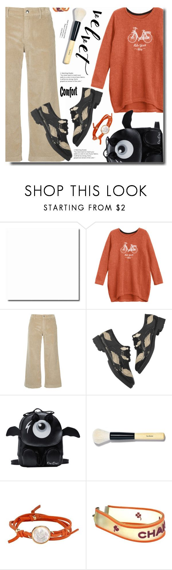 """""""Comfor combo outfit"""" by soks ❤ liked on Polyvore featuring The Seafarer, Bobbi Brown Cosmetics, Asha by ADM and Chanel"""