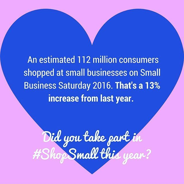 """Now in its seventh year, Small Business Saturday is gaining a lot more support and awareness from consumers, """"corporate supporters"""", public figures and more. ⠀ ...⠀ Are you a #smallbusinessowner or #entrepreneur who took part in #shopsmall, or leveraged any of its resources (such as the Shop Small Studio) this year? Did you see an increase in support for your business? Would you participate again next year? Leave your comments below! ⠀ .⠀ .⠀ .⠀ .⠀ .⠀ #ShopSmall, #smallbusinesssaturday…"""