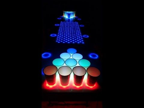 17 Best Ideas About Led Beer Pong Table On Pinterest Beer Pong Tables House Party And Diy
