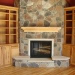 Contemporary Design Stone Fireplace Mantels Wood Floor Oak Cabinet Engaging Fireplace Design Luxury Thin Stone Veneer Fireplace Tropical Style