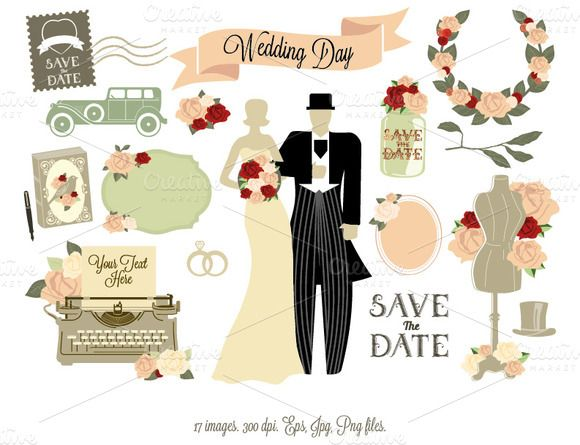 Wedding Gift Check Bounced : 12 best images about Wedding Clipart on Pinterest Romantic, Creative ...