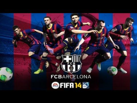 Fc Barcelona Tiki Taka FIFA 14 - YouTube #fifa #gameplay #fifa14 #easports #youtube #youtuber #football #soccer #sports