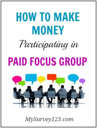 How to Earn Money Participating Online Paid Focus Groups and A List of legitimate market research focus group companies mysurvey123.com/