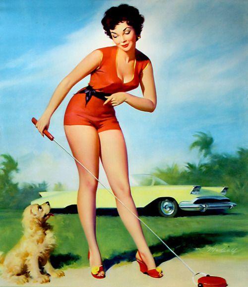 Shufflin' PinUp <31950S Pinup, Pinup Illustration, Pinup Artists, Vintage Illustration, Vintage Pinup, Pinup Girls, Pin Up, Beautiful Pinup, Bill Medcalf