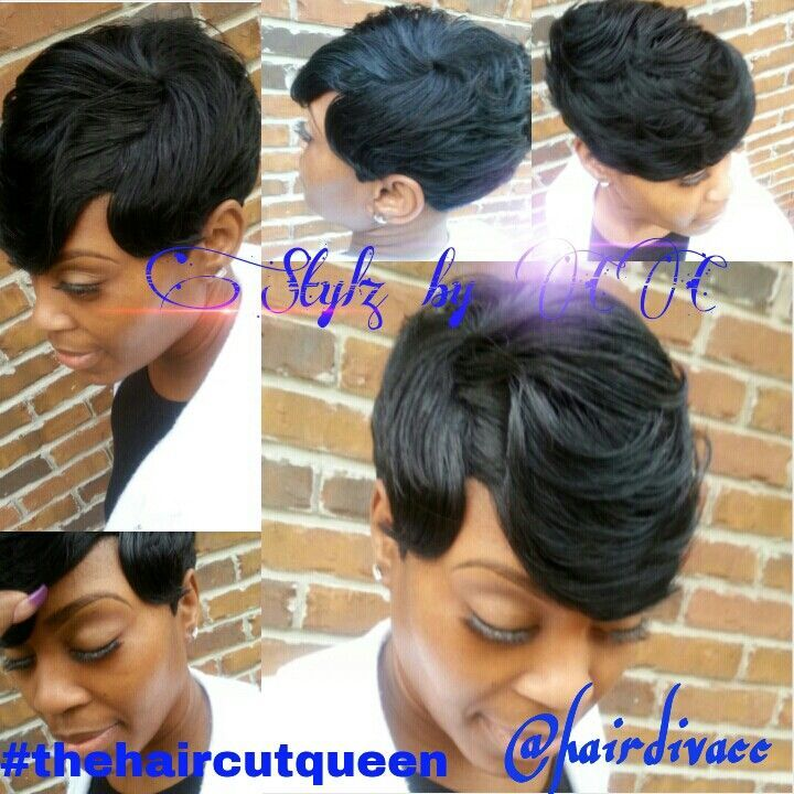 short weave hairstyles for black women 27 Pieces | What are some short quick-weave styles? Some short, quick-weave…