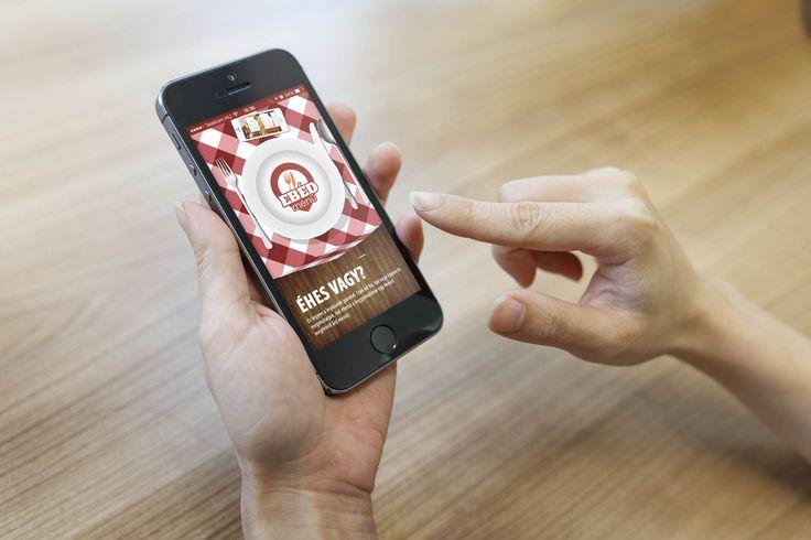 Ingyenesen letölthető ebédmenü kereső alkalmazás ios-re és androidra!