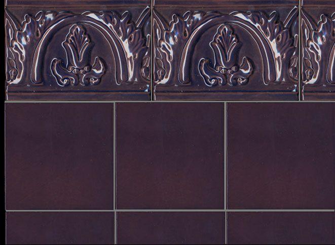 17 id es propos de salle de bains prune sur pinterest for Carrelage couleur prune